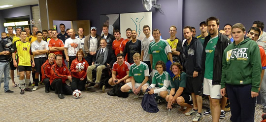 5Sports kicks a goal for SpinalCure