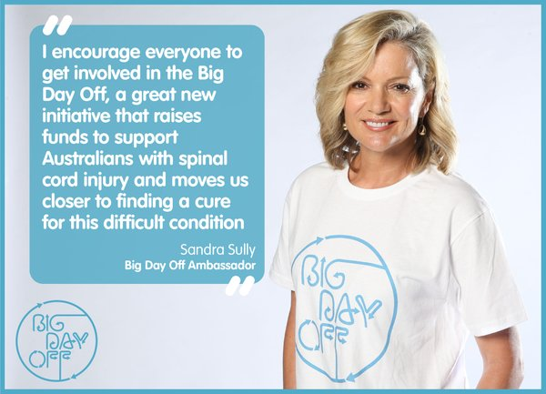 Sandra Sully, Big Day Off Ambassador