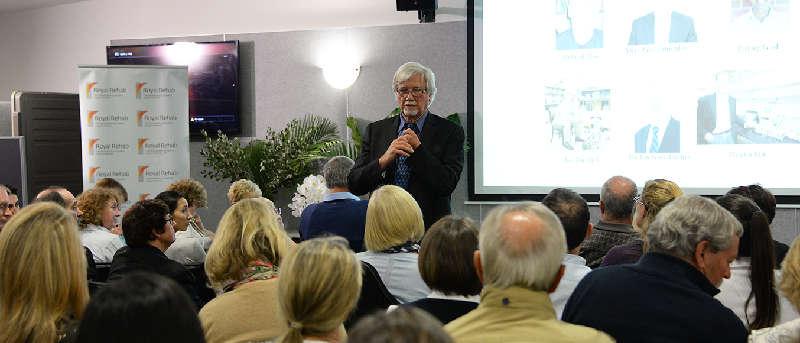 Prof Reggie Edgerton lectures in Sydney