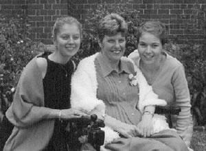 Janelle Connellan, Rosalind Elaine Nicholson and Melinda Carr