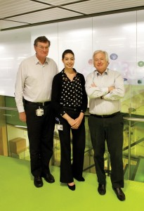 Prof Andrew Boyd , Ms Sophie Tajouri and Prof Perry Bartlett