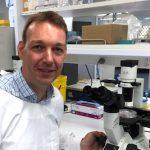 Marc Ruitenberg in his lab