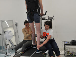 Physiotherapists with trial participant