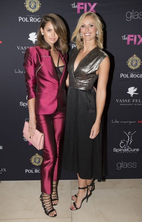 Channel9_OscarsLunch054 - Jesinta Campbell & Sylvia Jeffreys