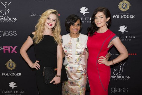 Channel9_OscarsLunch071 - Harriet Dyer, Miranda Tapsell and Gracie Gilbert