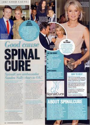 OK Magazine article