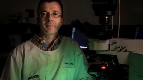 Associate Professor James St John. (Photo by Griffith University)