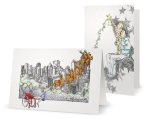 Christmas cards supporting spinal cord injury research